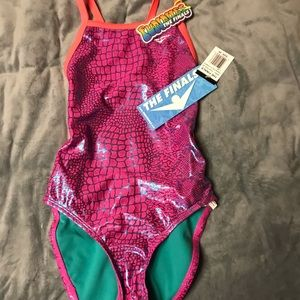 NWT. The Finals. Size 28. Pink/Teal Cobra